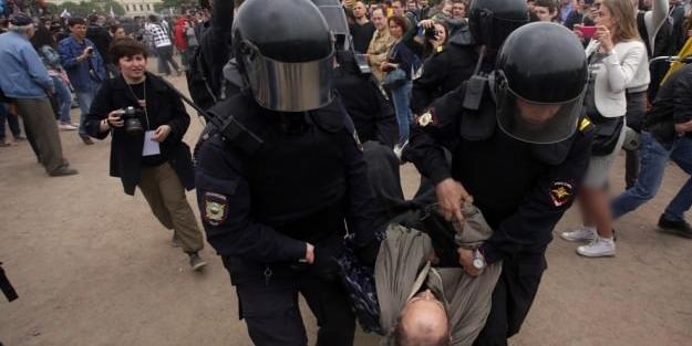 Rusya'da isyan çıktı: 650 gözaltı!