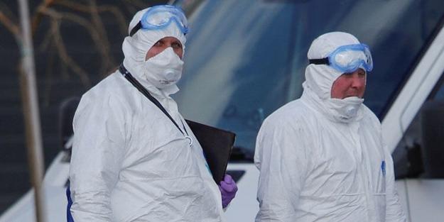 Rusya'da Kovid-19 hastalarının bulunduğu hastanede felaket!