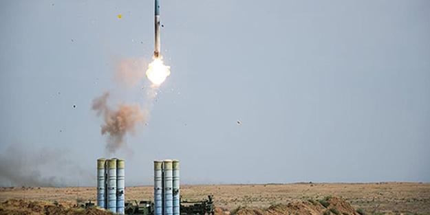 Rusya'da S-400'ler ateşlendi