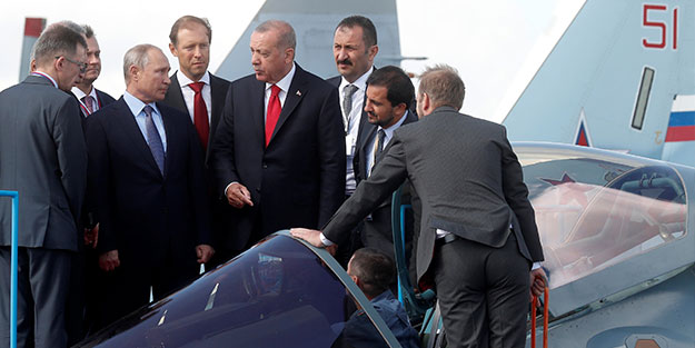 Rusya'dan SU-57 açıklaması: Karar Ankara'nın