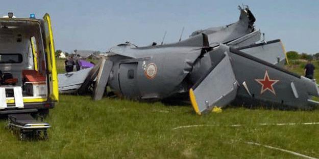 Rusya'da uçak düştü!