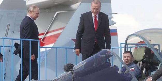 Rusya'dan flaş SU-35 ve SU-57 açıklaması