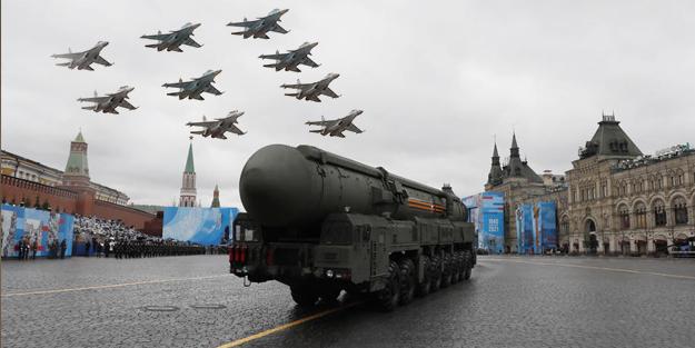 Görüntüler Rusya'dan! S-400'ler ve savaş uçakları...
