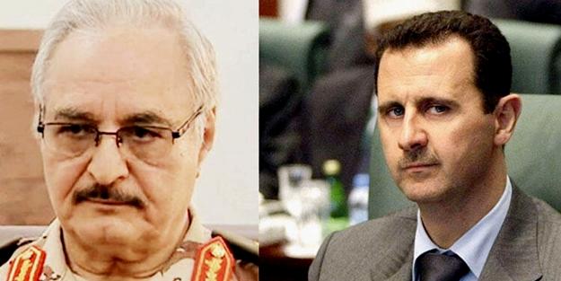 Rusya'dan Hafter'e para, Esad'dan toprak talebi