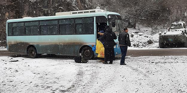 Rusya'dan sinsi adım! Gizlice Dağlık Karabağ'a getirdiler