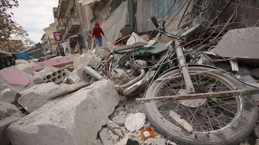 Rusya'nın İdlib Gerginliği Azaltma Bölgesi'ndeki saldırılarında 4 sivil öldü