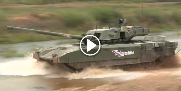 Rusya'nın yeni tankı 2019'da seri üretimde!
