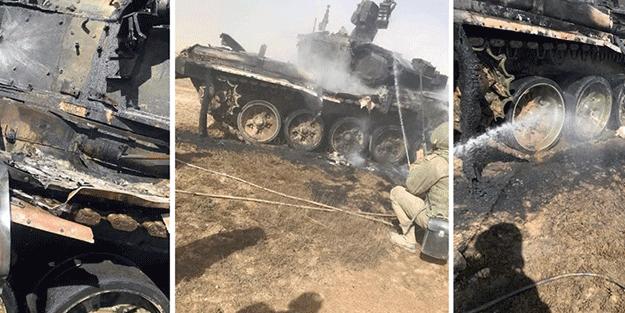 Rusya'yı sarsan gelişme! Füze ile tanklarını vurdular