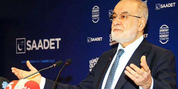 Saadet Partisi Genel Başkanı Temel Karamollaoğlu, AK Parti'nin oy oranı için rakam verdi
