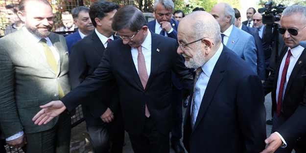 Saadet Partisi ile Ahmet Davutoğlu birleşiyor mu? Temel Karamollaoğlu duyurdu