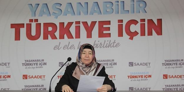 Saadet Partisi Kadın Kolları'ndan su tasarrufu çağrısı