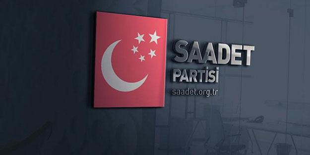 Saadet Partisi o programları iptal etti!