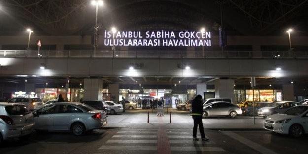 Sabiha Gökçen Havalimanında uçuşlar durduruldu