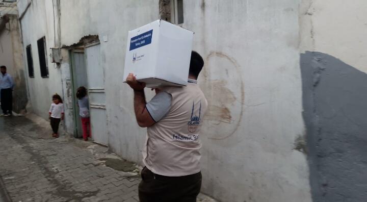 Sadakataşı yurtiçi Ramazan yardımlarını sürdürüyor