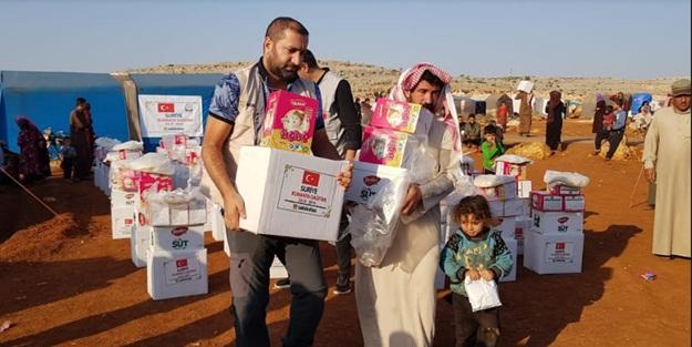 Sadakataşı'ndan İdlib'e acil yardım