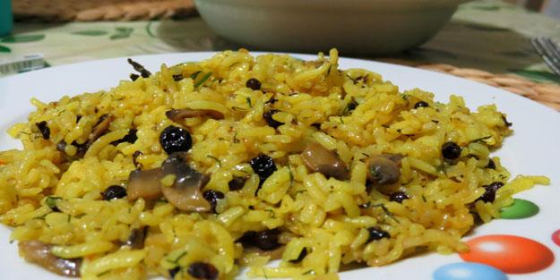 Safranlı Basmati Pilav tarifi- Safranlı Basmati pilav nasıl yapılır?
