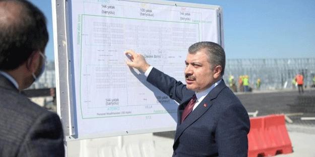 Sağlık Bakanı Fahrettin Koca duyurdu! Atatürk Havalimanı'na inşa edilen hastanede bomba özellik