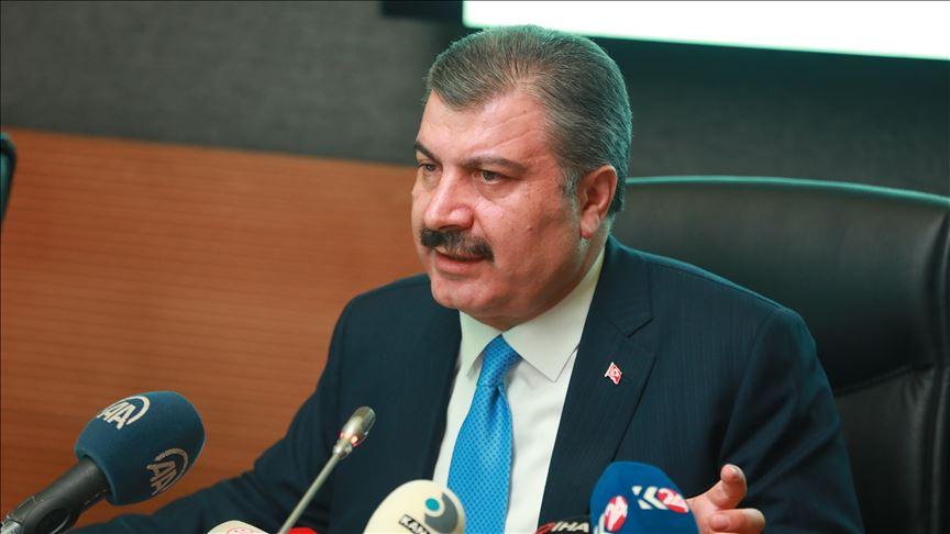 Sağlık Bakanı Fahrettin Koca: Türkiye'de tespit edilen bir vaka olmadığını net söylüyoruz