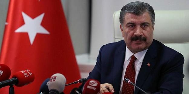 Sağlık Bakanı Fahrettin Koca yeni koronavirüs vakalarını açıkladı!