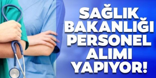 Sağlık Bakanlığı sözleşmeli sağlık personel alımı hangi illerde yapılacak?