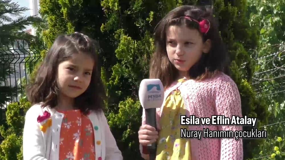 Sağlık çalışanı annelere çocuklarından sürpriz Anneler Günü videosu