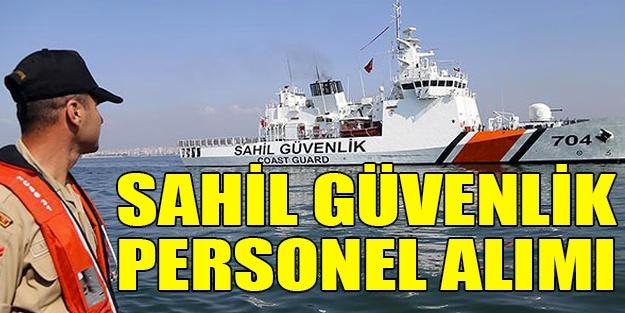 Sahil Güvenlik personel alımı 2019   Sahil Güvenlik Komutanlığı başvuru şartları neler?