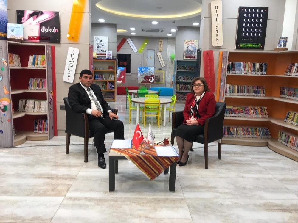 Şahin ortak yayın platformunda projelerini anlattı