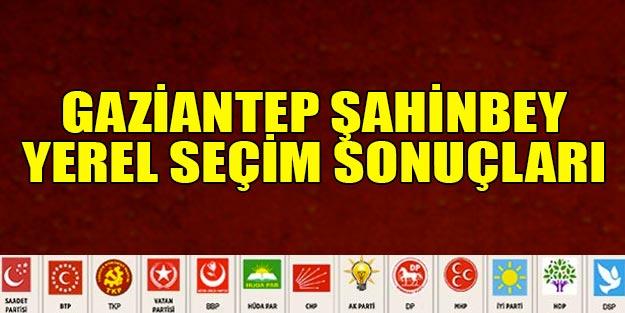 Şahinbey seçim 2019 sonuçları | Gaziantep Şahinbey belediye seçim sonuçları | Cumhur ittifakı Millet ittifakı oy oranı