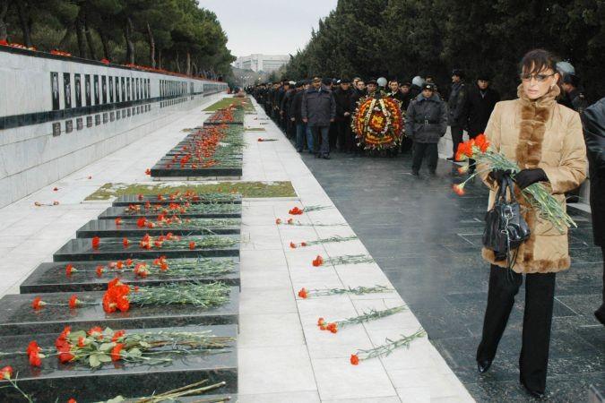 """Şahtahtı: """"20 Ocak Azerbaycan'ın en şerefli günüdür"""""""