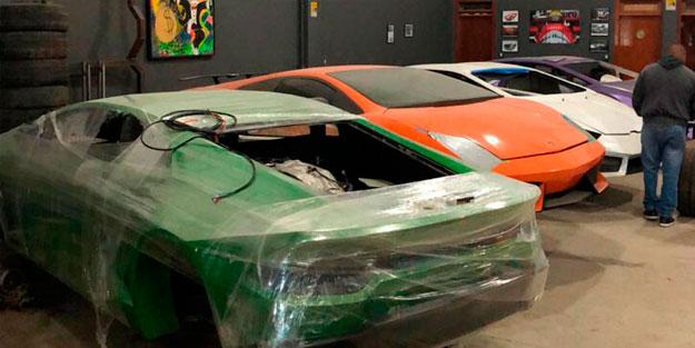 Sahte Ferrari ve Lamborghini fabrikasına operasyon