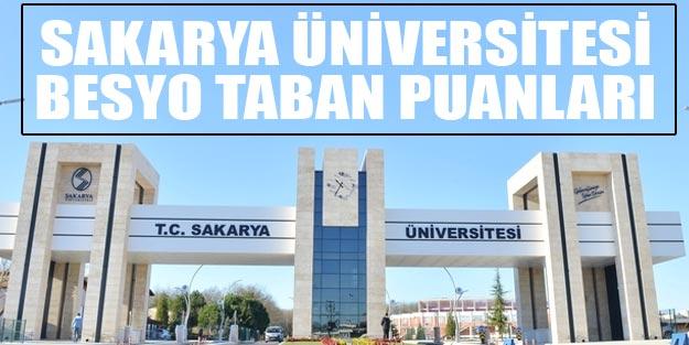 Sakarya Üniversitesi besyo taban puanları 2019