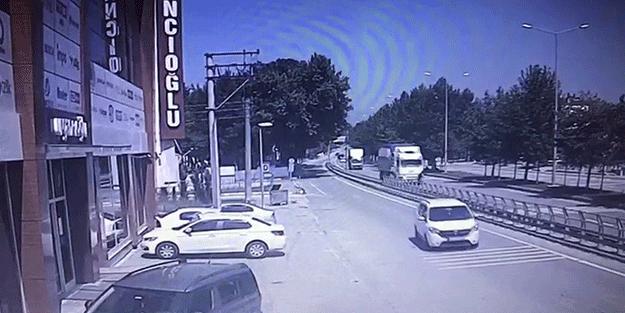 Sakarya'da feci kaza! Genç çocuk ölüme böyle koştu