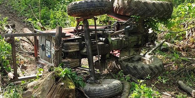 Sakarya'da feci traktör kazası! Ölü ve yaralı var