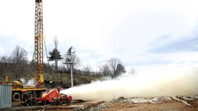 Sakarya'da jeotermal kaynak bulundu
