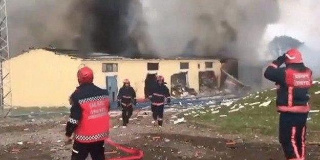 Sakarya'daki patlama sonrası korkunç iddia: AFAD'dan açıklama geldi