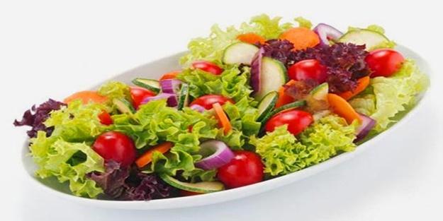 Salatadaki gizli tehlike! Aman buna dikkat