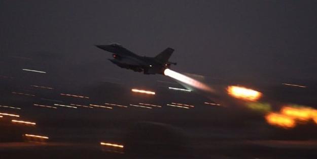 Saldırı hazırlığındaki PKK'lılara F-16 şoku!