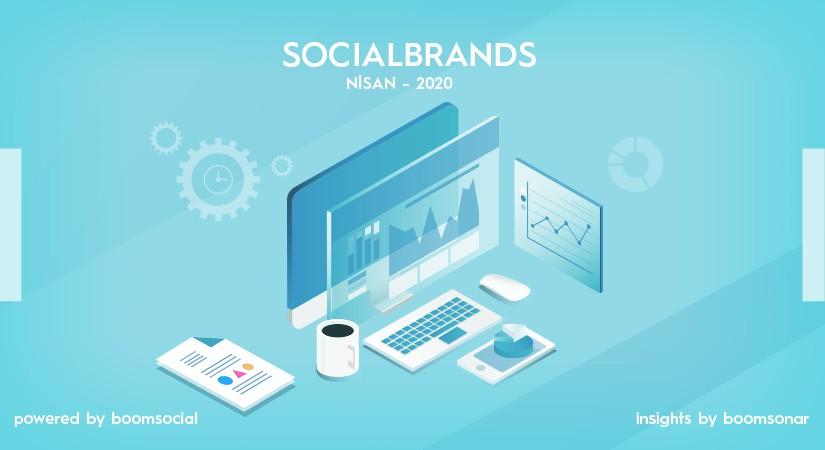 Salgın günlerinde sosyal medyanın en etkili markaları açıklandı