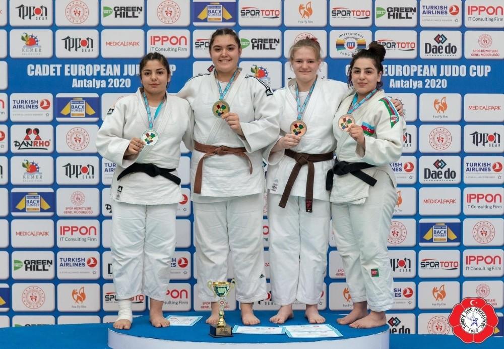 Salihlili judocu Duygu Dirgen Avrupa Şampiyonu oldu