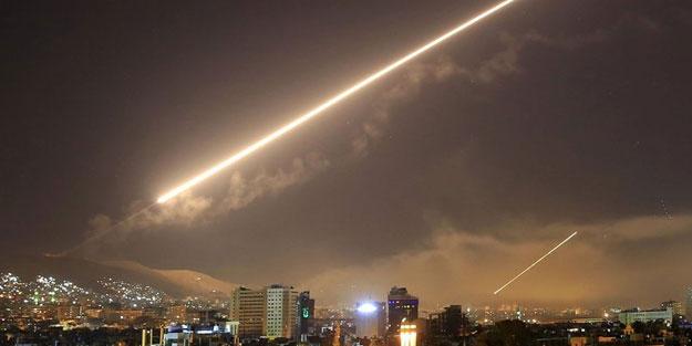 Şam'a hava saldırısı düzenlendi