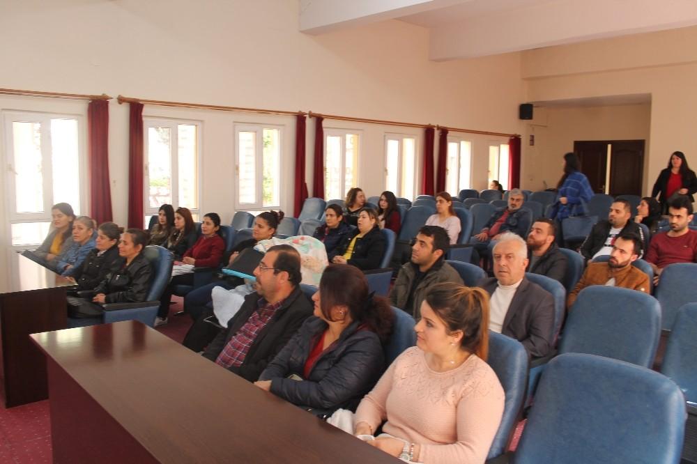 Samandağ'da Uygulamalı Girişimcilik Eğitimi başladı