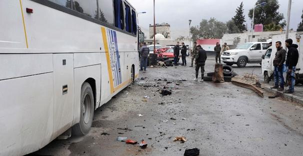 Şam'da büyük patlama... Çok sayıda ölü var