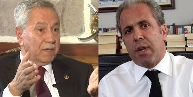 """Şamil Tayyar'dan çok sert Bülent Arınç çıkışı! """"Artık parti içi sorun değil"""""""