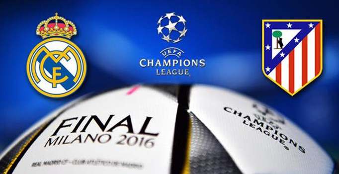 Şampiyonlar Ligi finalinde Real Madrid ile Atletico Madrid heycanı