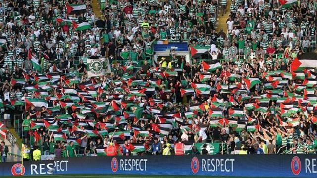 Şampiyonlar Ligi'nde Filistin bayrağı cezası