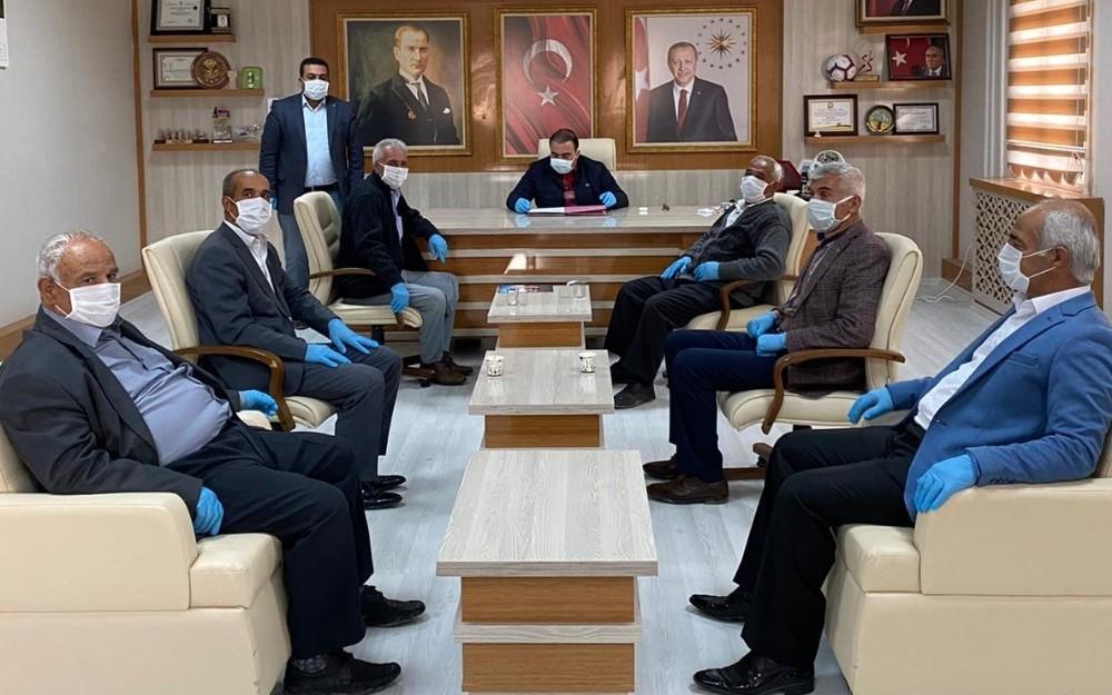 Samsat'ta Belediye meclis toplantısı yapıldı