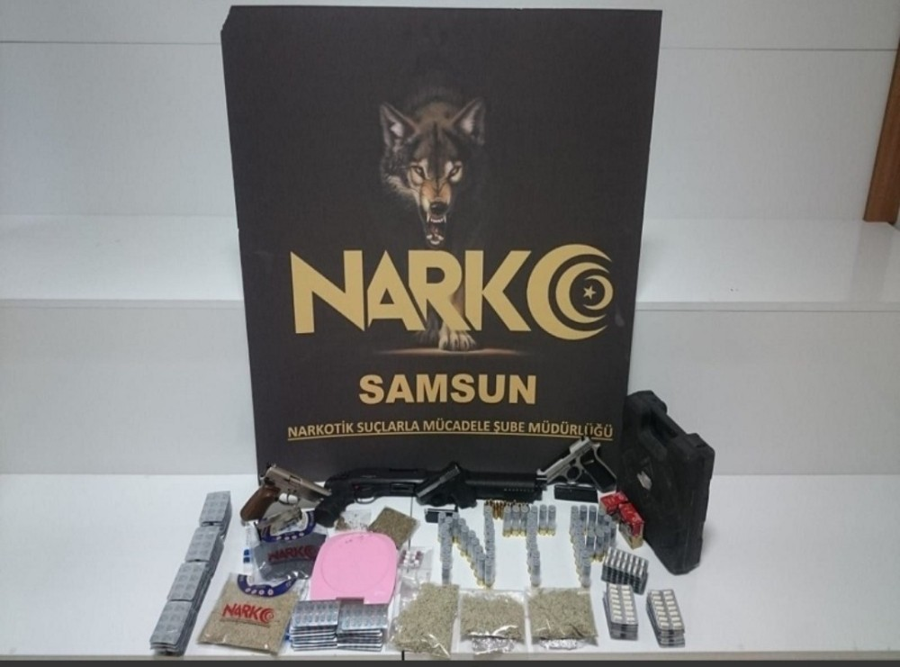 Samsun merkezli uyuşturucu operasyonu: 21 gözaltı