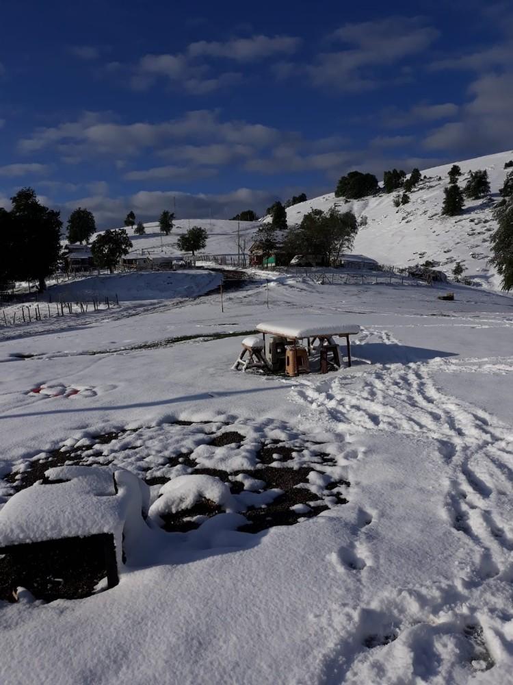 Samsun'da 23 Mayıs'ta kar sürprizi