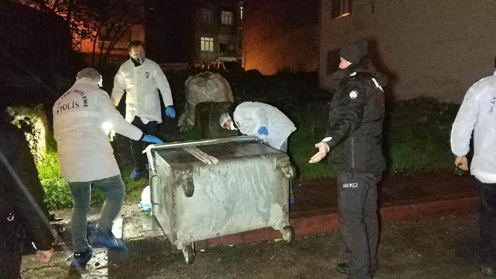Samsun'da çöp konteynerinde ceset bulunması