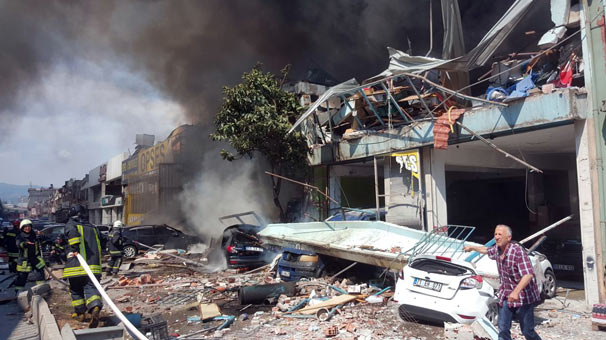 Samsun'da ortalık savaş alanına döndü… Korkunç görüntüler!